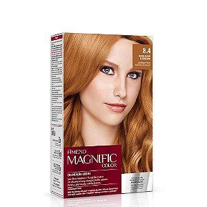 Magnific Color Kit 8.4 Louro Claro Acobreado Amend