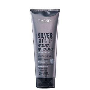 Máscara Matizadora Silver Blonde 250g Amend