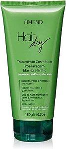 Leave in Hair Dry Tratamento Pós Lavagem Maciez e Brilho 300g Amend