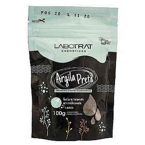 Argila Preta Corpo e Rosto 100% Natural 100g Labotrat
