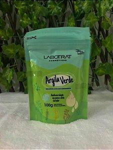 Argila Verde Corpo e Rosto 100% Natural 100g Labotrat
