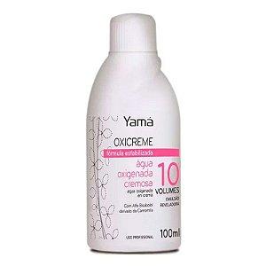 Água Oxigenada Cremosa Yama OX 100ml Vol 10
