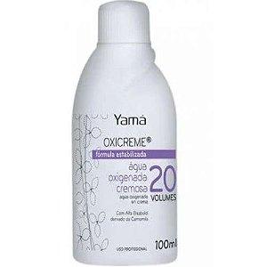 Água Oxigenada Cremosa Yama OX 100ml Vol 20