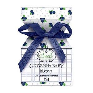 Giovanna Baby Deo Colonia Blueberry 50ml
