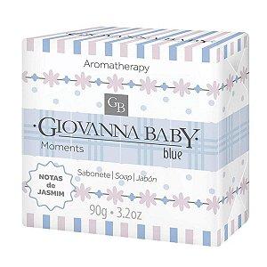 Giovanna Baby Sabonete em Barra Moments Blue 90g