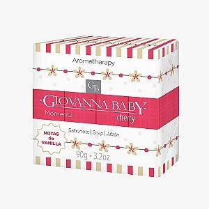 Giovanna Baby Sabonete em Barra Moments Cherry 90g