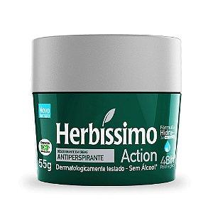 Desodorante Creme Herbíssimo Action 55g