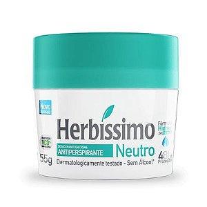 Desodorante Creme Herbíssimo Neutro 55g