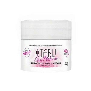 Desodorante Tabu Sem Perfume 55g
