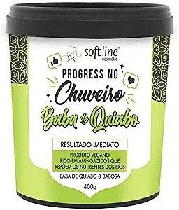 Progressiva no Chuveiro Baba de Quiabo 400g Soft Line