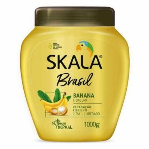 Creme Skala Brasil Banana e Bacuri 1kg