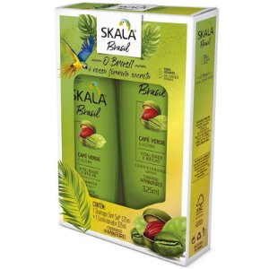 Kit Shampoo e Condicionador Skala 325ml Café e Ucuuba