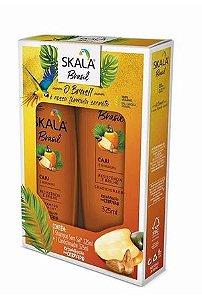 Kit Shampoo e Condicionador Skala 325ml Caju