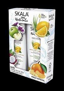 Kit Shampoo e Condicionador Skala 325ml Limão Siciliano e Capim Santo