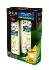 Kit Shampoo e Condicionador Skala 325ml Maionese Vegana