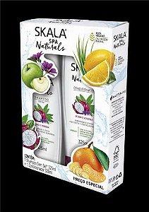 Kit Shampoo e Condicionador Skala 325ml Pitaya e Verbena