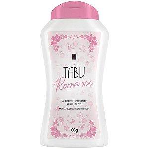 Talco Perfumado Tabu Romance 100g