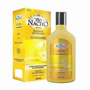 Shampoo Antiqueda Clareador Tio Nacho 200ml