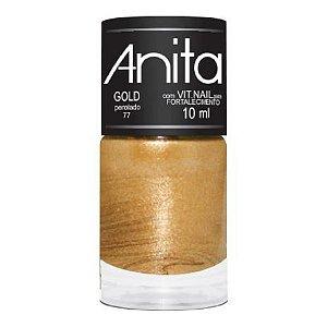 Esmalte Anita Perolado Gold 10ml