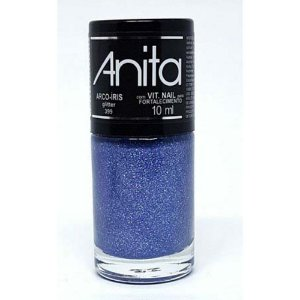 Esmalte Anita Glitter Arco Íris 10ml