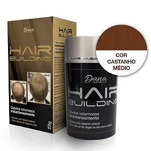 Hair Building Castanho Médio 22g Dana