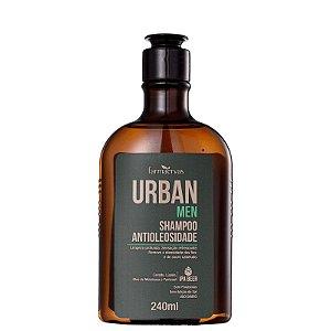 Shampoo Urban Men Antioleosidade 240ml Farmaervas