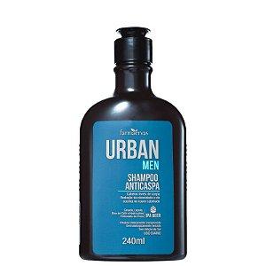 Shampoo Urban Men Anticaspa 240ml Farmaervas