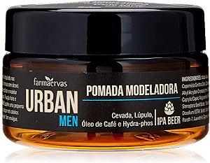Pomada Modeladora Efeito Matte Urban Men 50g Farmaervas