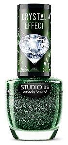Esmalte Studio 35 Crystal Effect III Esmeralda Rara 9ml