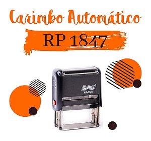 Carimbo Automático Deskmate RP 1847 - 18x47mm