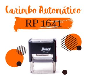 Carimbo Automático Deskmate RP 1641 - 16x41mm