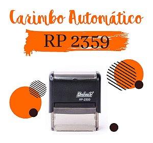 Carimbo Automático Deskmate RP 2359 - 23x59mm
