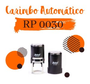 Carimbo AutomáticoDeskmate RP 0030 – Ø30mm
