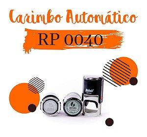 Carimbo AutomáticoDeskmate RP 0040 – Ø40mm