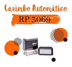 Carimbo AutomáticoDeskmate RP 3069 – 30x69mm