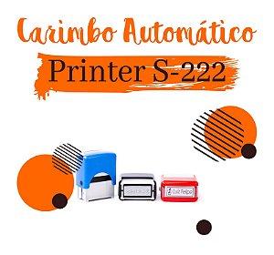 Carimbo Automático Shiny Printer S-222 – 14x38mm