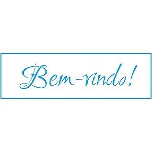 STE-104 - STENCIL - BEM-VINDO