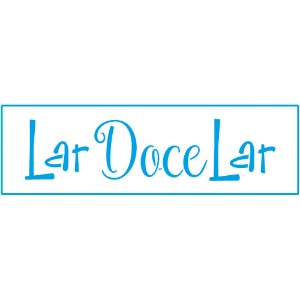STE-336 - STENCIL - LAR DOCE LAR