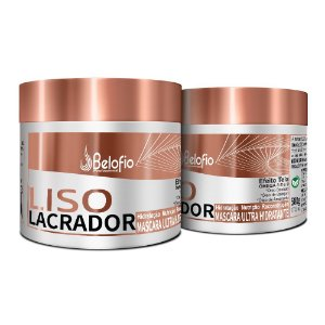 Liso Lacrador Máscara Ultra Hidratante 500g Belofio