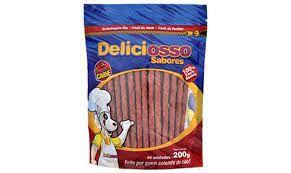 Osso Deliciosso Carne Fino 200g - 6012 Cx