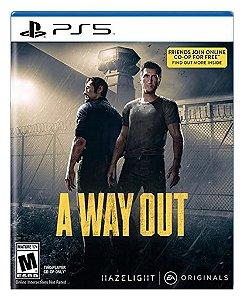 A Way Out para ps5 - Mídia Digital