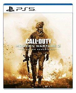 Call of Duty Modern Warfare 2 Campaign Remastered para ps5 - Mídia Digital