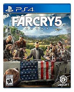 Far Cry 5 para PS4 - Mídia Digital