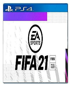 Fifa 21 para PS4 - Mídia Digital