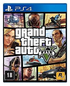 Grand Theft Auto V - Gta V para PS4 - Mídia Digital