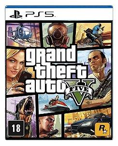 Grand Theft Auto V - Gta V para PS5 - Mídia Digital