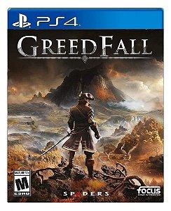 GreedFall para ps4 - Mídia Digital