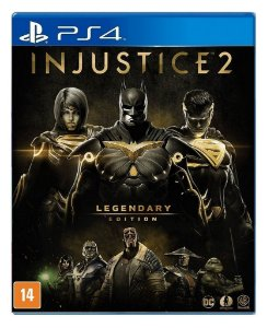 Injustice 2 Legendary Edition para PS4 - Mídia Digital
