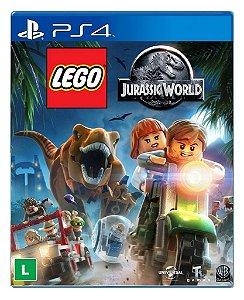 Lego Jurassic World para PS4 - Mídia Digital