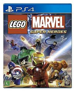 Lego Marvel Super Heroes para PS4 - Mídia Digital